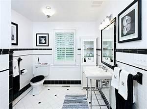 Badezimmer Dekorieren Ideen : badezimmer ideen in schwarz wei 45 inspirierende beispiele ~ Markanthonyermac.com Haus und Dekorationen