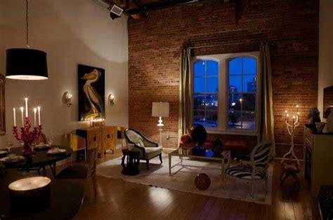 brick wall interiors apartments   blog