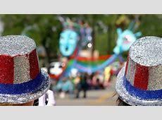 Sombrero de copa típico del Día de la Independencia de los