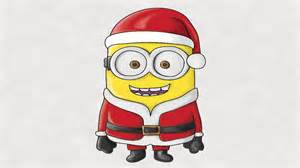 how to draw a minion santa claus colored in photoshop