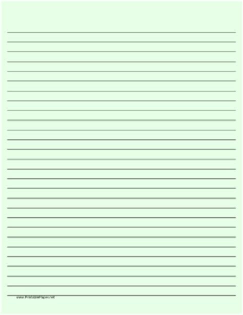colored lined paper printable lined paper light green wide black lines