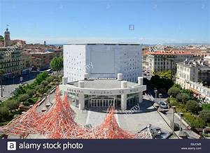 National Theater Building from Roof Terrace of the Museum ...