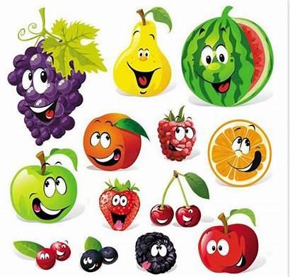 Cartoon Fruit Clipart Google Funny Gardening Jause