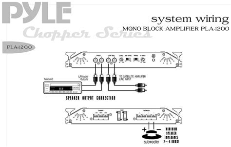 pyle pla1200 1900 watts mono block mosfet