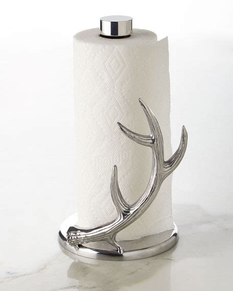 antler paper towel holder arthur court designs antler paper towel holder 4146