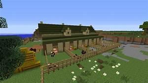 Minecraft World of Raar: -SPOTLIGHT- Horse Stable ...