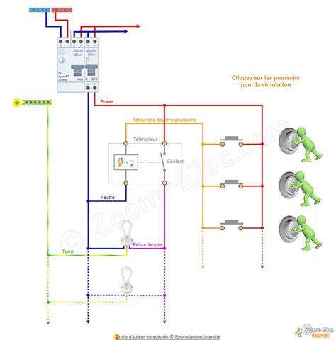 fonctionnement telerupteur electrical installation