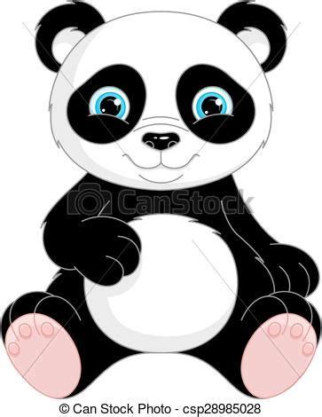 immagine sfondo bianco panda
