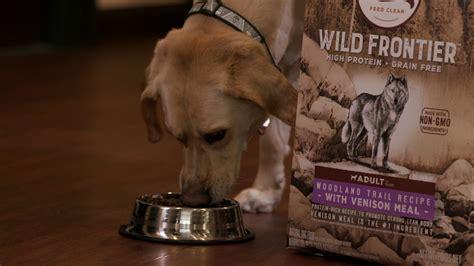 frontier wild nutro food dog dry