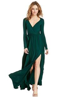 long sleeve maxi dress dressed up