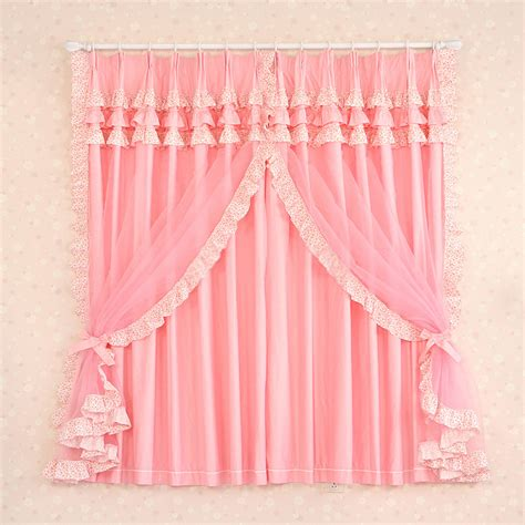 light pink ruffle curtains pink curtains walmart curtain decor ruffled pink