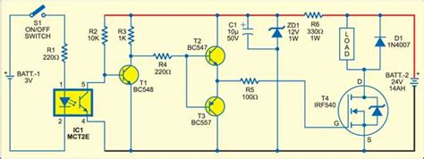 Solid State Relay Detailed Circuit Diagram Available