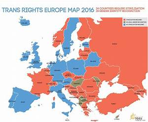 This is what transgender rights in Europe looks like ...