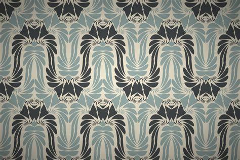 Free Art Nouveau Style Wallpaper Patterns