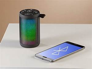 Bluetooth Lautsprecher Mit Led : auvisio musikbox lautsprecher mp3 player mit bluetooth radio lichtimpulsen 6 watt led ~ Yasmunasinghe.com Haus und Dekorationen
