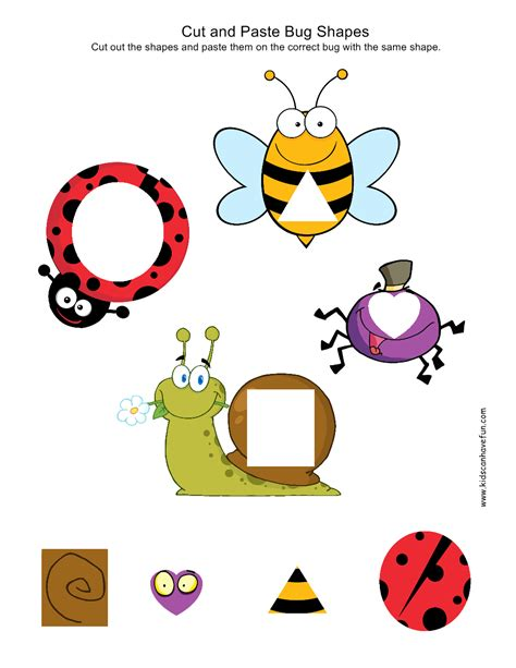 Cut And Paste Kindergarten, Preschool Worksheets  Preschool Activities  Pinterest Preschool