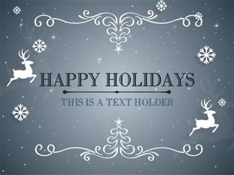 holiday powerpoint template  highest quality