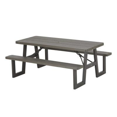 lifetime  foot  frame folding picnic table