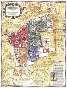 Map Of Jerusalem  The Old City