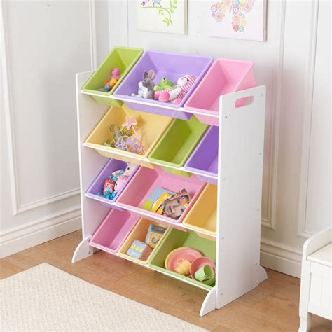 cribs with storage children storage unit with pastel plastic storage bin
