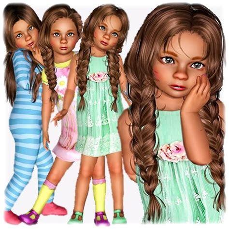 Annemieke Vanderbilt Toddler By Sellasu  Free Sims 3 Sims
