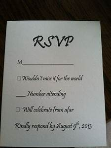 1000+ images about RSVP Cards on Pinterest | Response ...