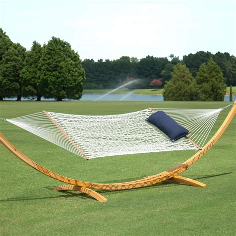 Images Of Hammocks by Hammocks Deluxe Polyester Rope Hammock On Sale
