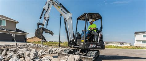 compact mini excavator bobcat company