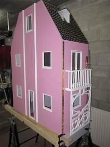 Construire Maison Bois Pour Barbie