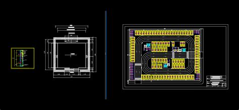 design  parking   basement  autocad cad