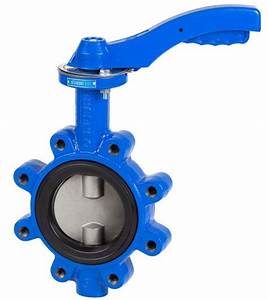 Lever Operated - Lugged Butterfly Valve - Ductile Iron