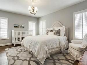 Crib In Bedroom Transitional Bedroom