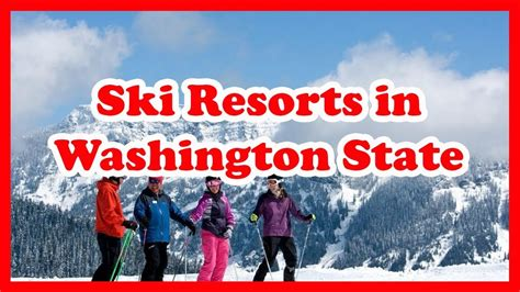 state washington ski resorts skiing rated