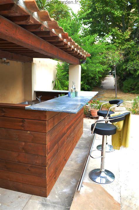 cuisine salle à manger salon cuisine d 39 été slowgarden design terrasses et jardins