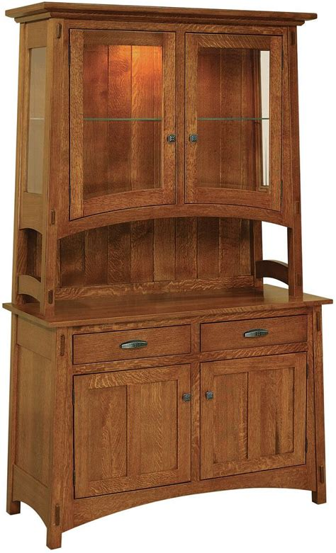 rosales small kitchen china hutch countryside amish