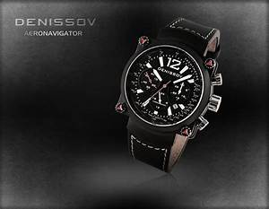 Fs  Denissov Aeronavigator Black Manual Wind Chronograph