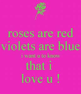 Roses Red Violets Blue Quotes Quotesgram