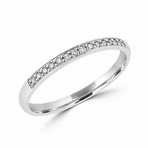 9ct white gold diamond vintage inspired wedding ring With vintage style wedding rings uk