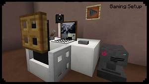 Minecraft How To Make A Gaming Setup YouTube