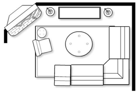 Living Room Floor Plans Photo Gallery by How To Determine Proper Room Layout In An Open My