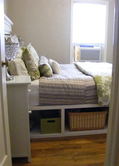 ana white farmhouse storage bed  hinged footboard
