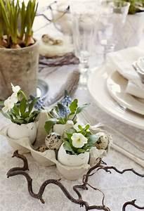 Tischdeko Für Ostern : 1001 ideen f r eine selbstgemachte tischdeko zum ostern ~ Watch28wear.com Haus und Dekorationen