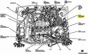 1996 Ford Taurus Engine