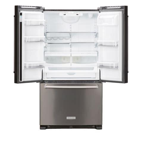 Kitchenaid Fridge Maker Troubleshoot by Kitchenaid Krff305ebs 25 2 Cu Ft Door Refrigerator