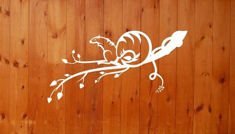 Squirrel Tree Branch Wall Decals Mural Home Decor Vinyl