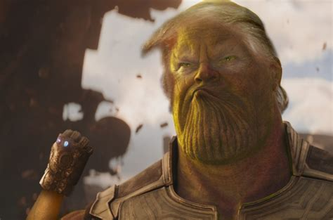 thanos meme trump obama photoshop infinity war avengers gets unsee drivers makeover lucu uber taxi struggling york movieden efeito diria