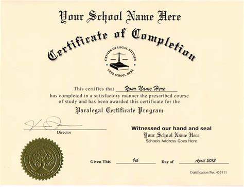 ged certificate template  printable receipt template