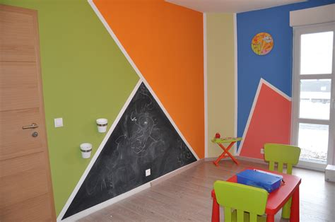 chambre fille vert idée chambre fille orange