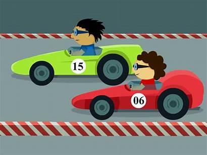 Animation 2d Race Dribbble