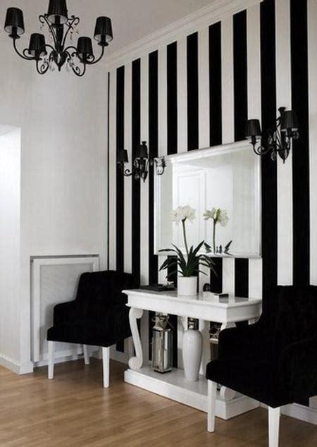 1805 black and white room paredes colchoneras jugando con el efecto 243 ptico